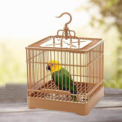 Nrkin Jaula de pájaros Alimentador de Aves Transpirable Parrot ...