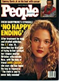 People Weekly January 29 1990 Drew Barrymore at 14 on Cover, Sammy Davis Jr, Thomas Pynchon, Barbara Bush, George Bush, Aspen Colorado, Jason Hervey/The Wonder Years