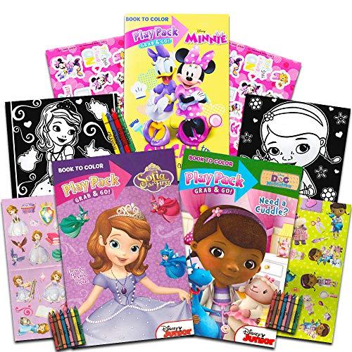 Disney Junior Girl's Grab 'N Go Play Packs Set of -
