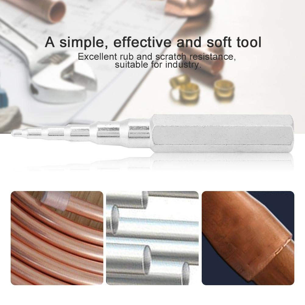 Steel Tube Pipe Expander,Hand Swaging Hole Punch,CT-95 Universal Refrigeratio Air Conditioner Maintain Repair Hand Expanding Tool