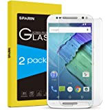 Motorola Moto X Pure Edition Screen Protector [0.18mm Tempered Glass], SPARIN [Explosion-proof] [Repeatable Installation] Clear Glass Screen Protector for Motorola Moto X Pure Edition