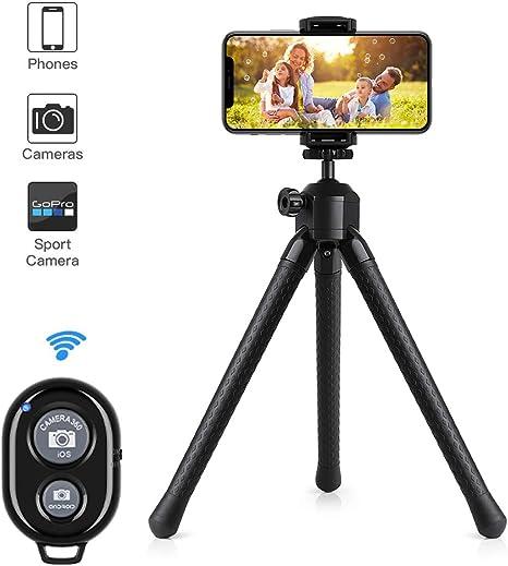 Pulpo soporte para cámara portátil y ajustable soporte de cámara ...