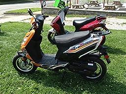 TaoTao Thunder 50 Gas Street Legal Scooter - Black