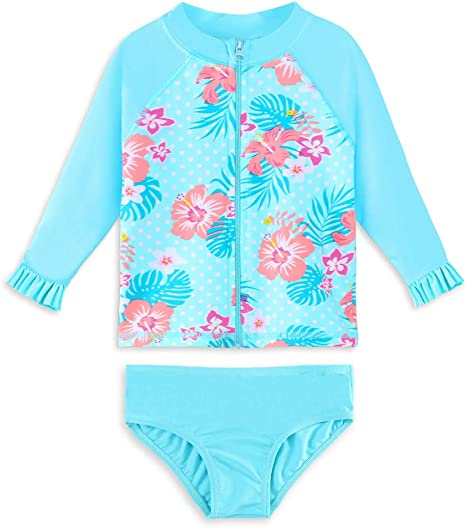 Big Girls Summer Sunscreen Quick Drying Swimsuit