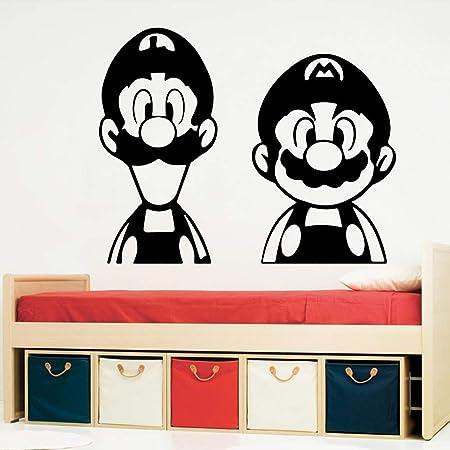 zqyjhkou Moderno Etiqueta de La Pared Gamer PVC Wall Art ...