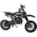 49CC 2-Stroke Gas Power Mini Dirt Bike,Pit Bike Dirt Off Road Motorcycle, Scooter