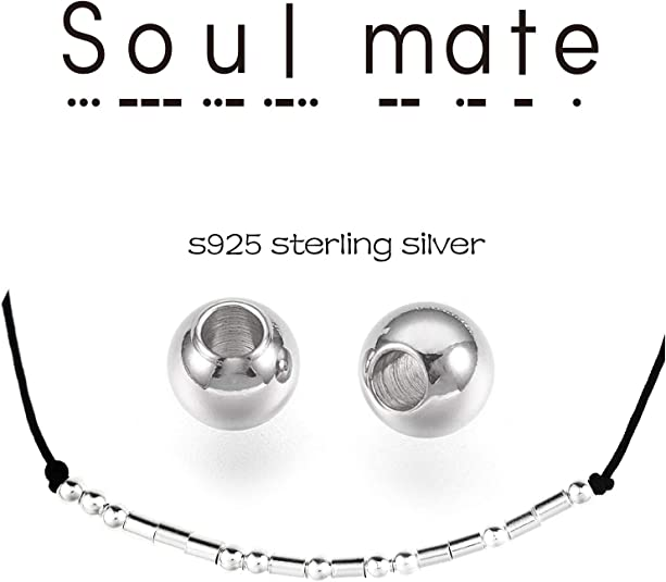 YooAi Morse Code Bracelet Joyeux Anniversaire Cadeaux pour Filles Gar/çons Bracelet en Argent Sterling Anniversaire Cadeau Bijoux pour 12e 13e 14e 15e Perles sur Cordon de Soie 16e 17e 18e 19 20 21 25