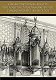img - for Organ Historical Society Philadelphia 2016 Diamond Jubilee Commemorative Anthology book / textbook / text book