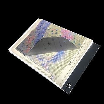 Ultra Dünne A4 Led Licht Pad Künstler Licht Box Tisch Tracing Zeichnung Bord Pad Diamant Malerei Stickerei Werkzeuge Computer-peripheriegeräte Digital Tablets