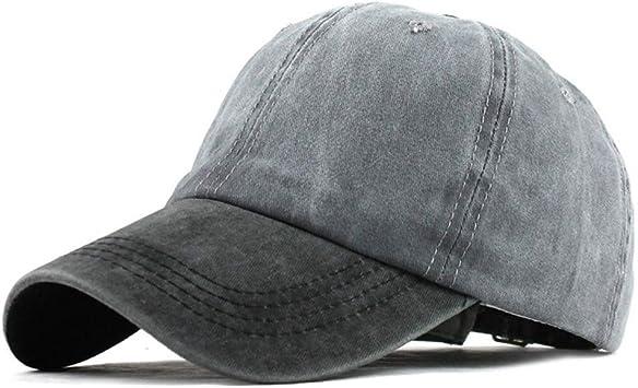 SADUZI Gorra De Beisbol Sombrero De Dril De Algodón Lavado ...