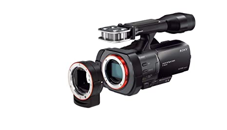 Sony NEXVG900 Full Frame Interchangeable Lens Camcorder Video Camera with  3-Inch LCD(Black)