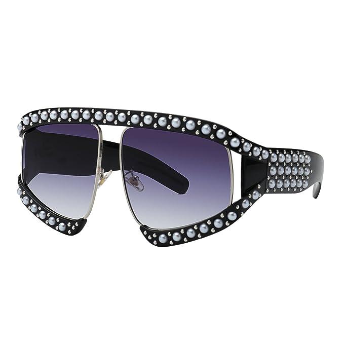 Amazon.com: Gafas de sol WOWSUN de gran tamaño para mujer ...