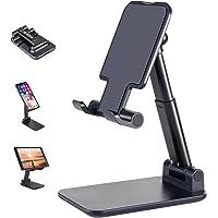 Suporte para celular, suporte de celular ajustável de altura de ângulo ANDATE para mesa, suporte para celular totalmente…