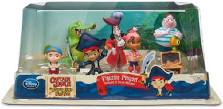 Disney Set de Juego Figuritas de Muñequitos Jake y los Piratas de Nunca Jamás – 7 Piezas: Amazon.es: Juguetes y juegos