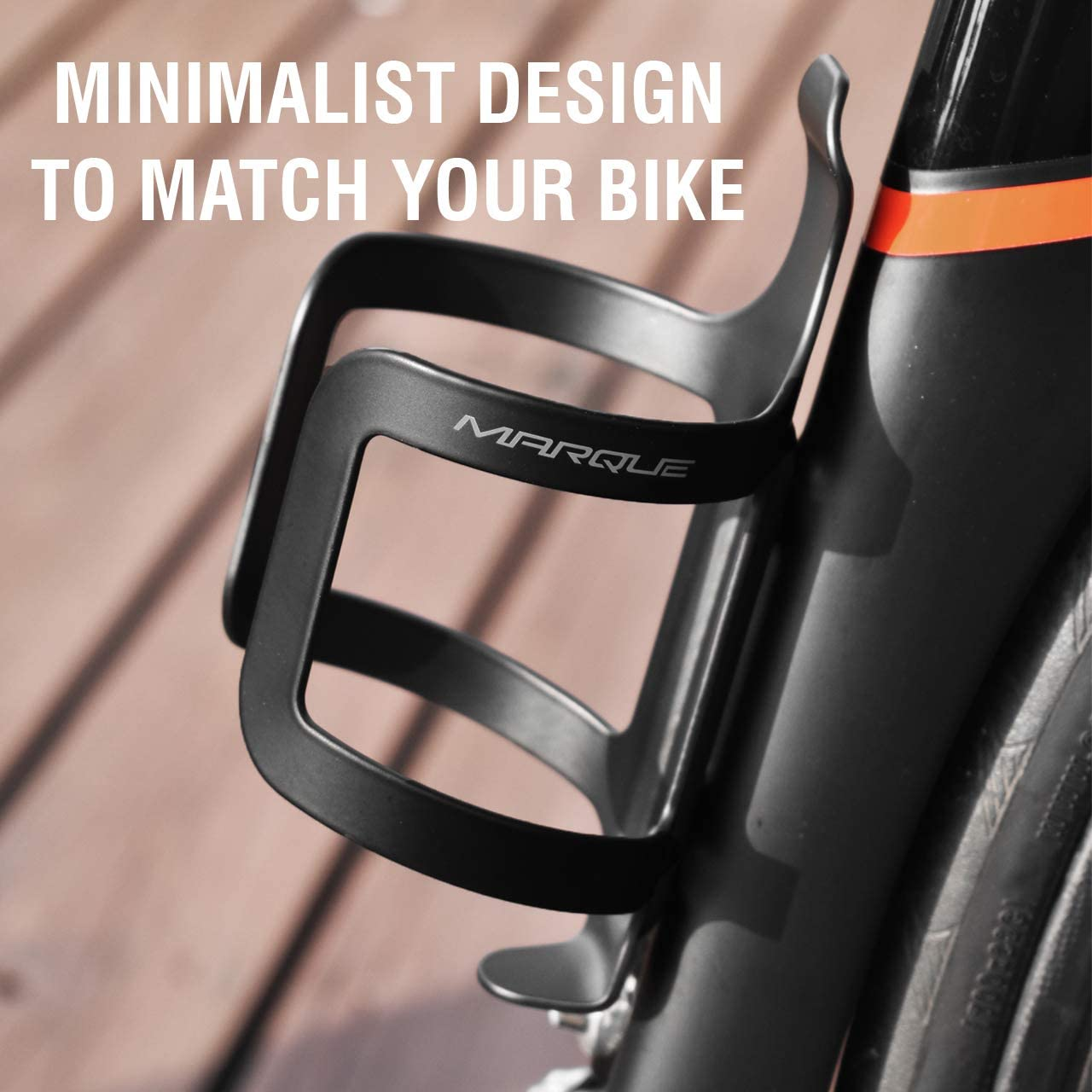 Fits Most Road Cycling and Mountain Bike Bicycle Hydration Bottle Cage MARQUE Holder Water Bottle Cage Easy to Install and Use