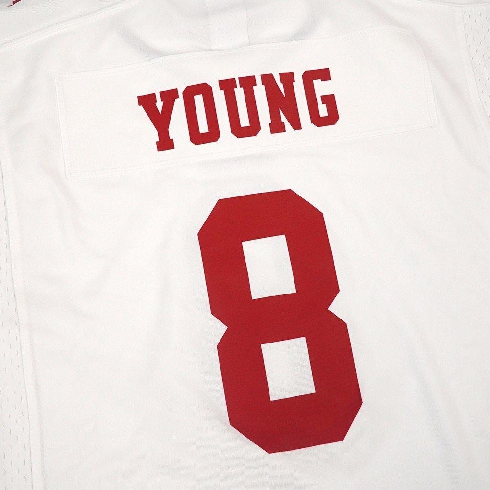 Nike Steve Young San Francisco 49ers 49ers 49ers NFL Bianco Game Team Jersey per Giovani, bianca   Bella arte    Moda E Pacchetti Interessanti    Folle Prezzo    Tocco confortevole    Per tua scelta    Re della quantità  88a2d3