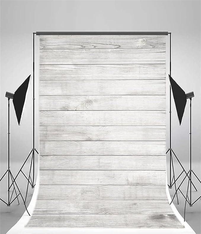 GoEoo 5X7ft Wooden Wall Floor Vinyl Fabric Photography Backdrops Photo Studio Background Studio Props 10548