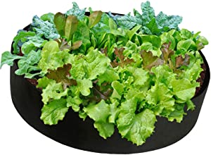 Cherry Juilt Fabric Raised Garden Bed, Gardening Grow Bed, Planter Bags,Planting Container Planter Pot,Garden Outdoor Felt Grow Bags for Vegetables (15 Gallons-23.6''x 7.8'')