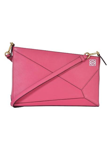 Loewe - Cartera de mano para mujer rosa Rosa IT - Marke Größe, color rosa, talla UNI IT - Marke Größe UNI: Amazon.es: Zapatos y complementos