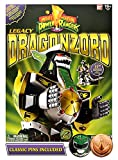 Bandai Saban's Mighty Morphin Power Rangers 2017 Legacy Limited Edition Green Dragonzord with Exclusive Helmet / Coin Pins
