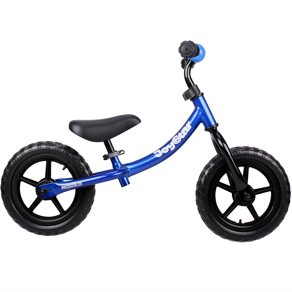 JOYSTAR Balance Bike for 1.5-5 Years Old Boys, Toddler Push Bike with Puncture-Proof Tire for Child, 12 inch Kids Glider Bike, Blue