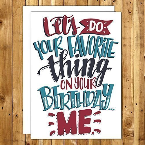 Amazon Birthday Card For Boyfriend 049 Lets Do Your Favorite