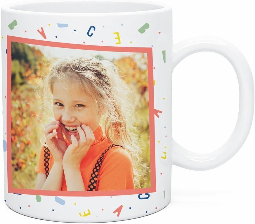 Regalo Original Taza de plástico Infantil Personalizada con Foto y ...