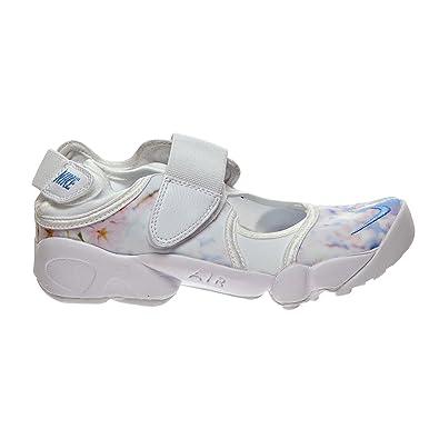 392189890 NIKE Air Rift Print Women s Shoe White Multi Color 807398-101 (7 B
