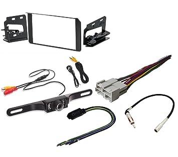 amazon com double din stereo installation dash kit chevy gmc rh amazon com cadillac night vision camera wiring 2004 Cadillac DeVille Grills