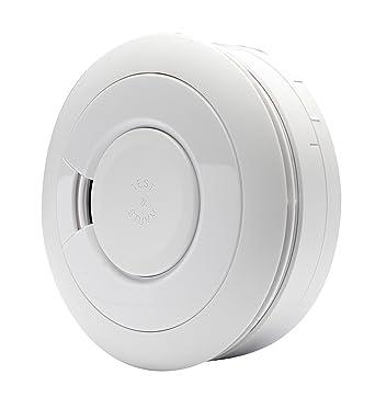 Detector de humo Ei Electronics Professional i-serie, con batería de litio fija con