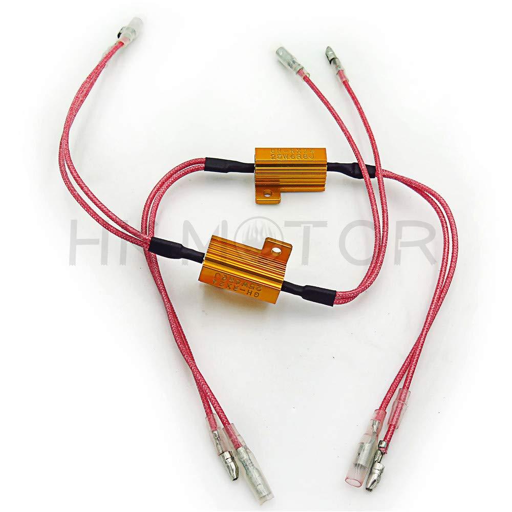 25W LED Flash Rate Controller Resistor for Honda CBR 929RR 954RR turn signal
