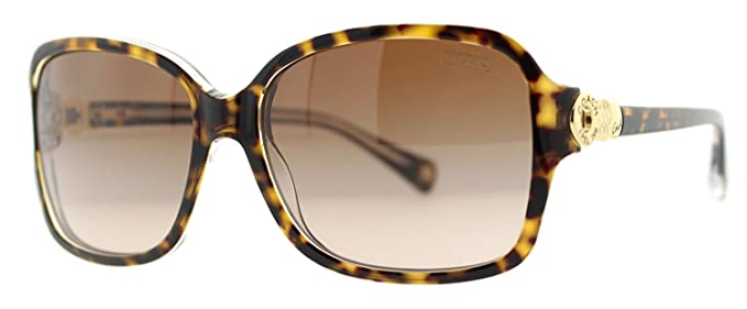 0da7262a2164c Coach HC 8009 (L020 Frances) 5049 13 Tortoise Crystal Womens Sunglasses   Amazon.co.uk  Clothing