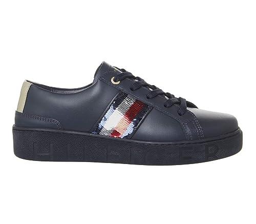 TOMMY HILFIGER FW0FW03704 Zapatillas DE Deporte Mujer: Amazon.es: Zapatos y complementos