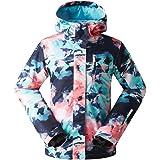 Amazon.com: GSOU - Chaqueta de esquí para mujer, chaqueta de ...