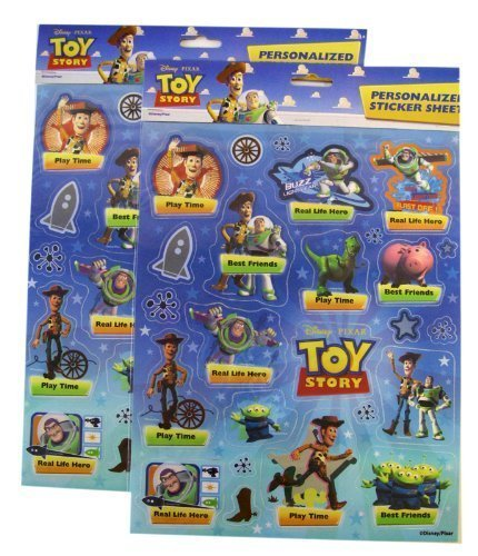 Disney Toy Story Sticker Sheet -2pcs Set - Disney Toy Story Sheets