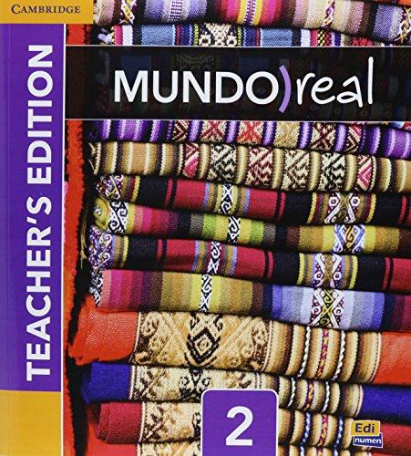 Mundo Real Level 2 Teacher's Edition plus ELEteca Access and Digital Master Guide (Spanish Edition)