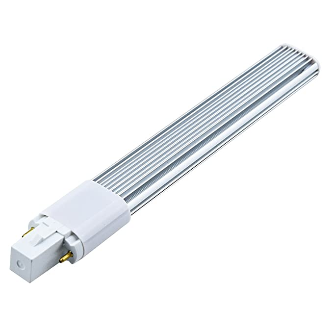 G23 LED Lampe 6W 2-Stifte PLC Birne 167MM 180 Grad Horizontale  Stecker Licht