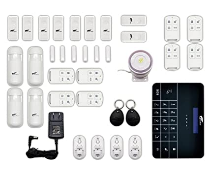 Delightful Alarm System, Professional Wireless Home Office Security System Remote  Control With Auto Dial And GSM