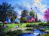Flying the Kites 1000 pc Jigsaw Puzzle