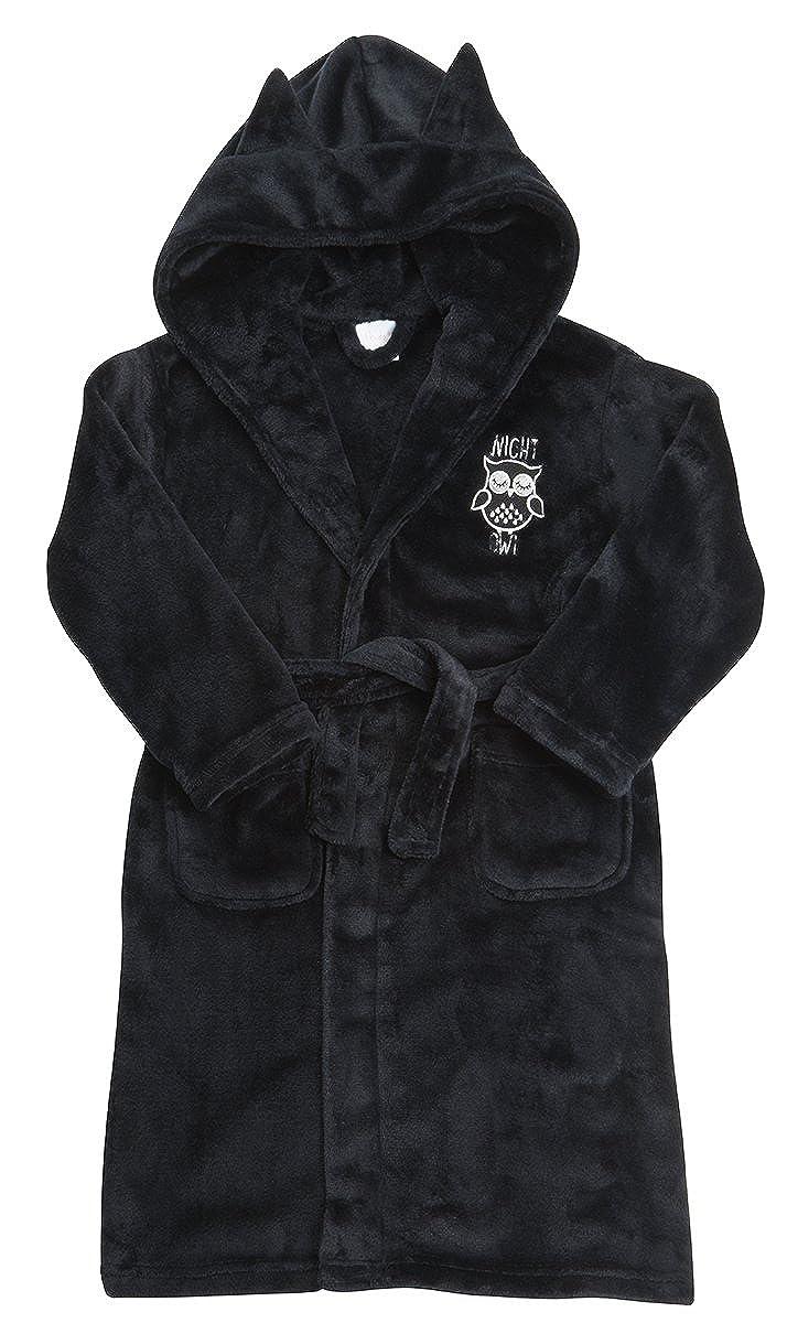 4Kidz Girls Night Owl Soft Fleece Dressing Gown ~ 7-13 Years