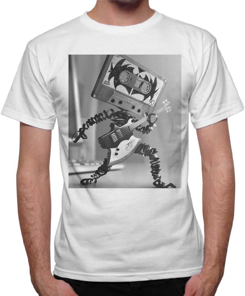 Camiseta hombre caja cara Grupo Kiss Hard Rock Heavy Metal – Blanco Bianco X-Large: Amazon.es: Ropa y accesorios