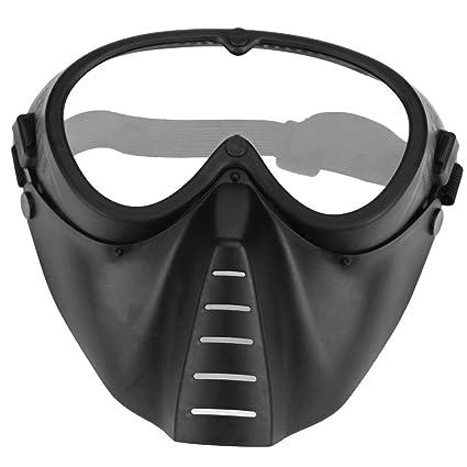 nelnissa resistencia a los golpes juego de CS máscara de Paintball disparar al aire libre gafas