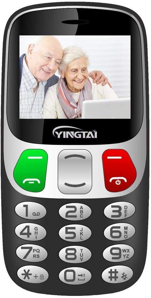 YINGTAI T47 2G - Teléfono móvil para Personas Mayores con números ...
