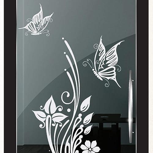 DD Dotzler Design 2111-2 Milchglasfolie Glastür Fenster Motiv ...