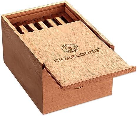 Caja Cigarros, con Higrómetro Importado, Forro Madera, Temperatura ...