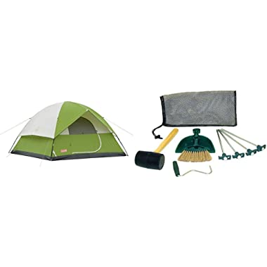Sundome 6 Person Tent - Green w/ Tent Kit