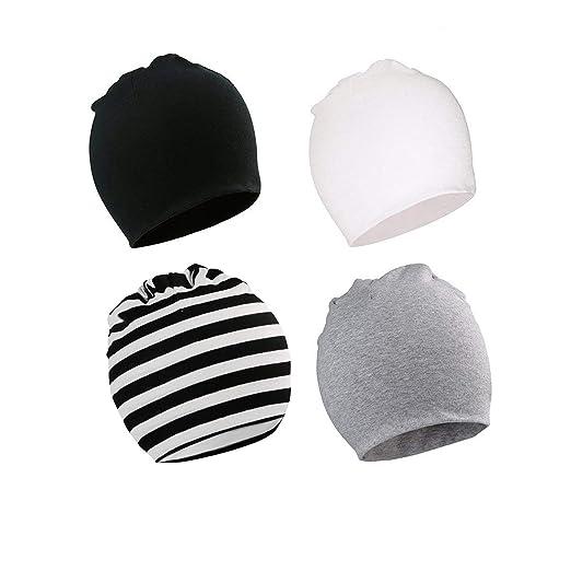 Bestjybt Baby Beanie Hats Newborn Infant Toddler Beanies Baby Girls Boys  Soft Knit Kids Beanies Hat 32626702de4
