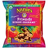 Annie's Organic Bunny Grahams Snack, Friends, 100 Count