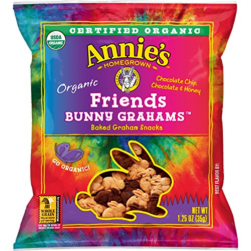 Annie's Organic Bunny Grahams Snack, Friends, 100 Count by Annie's Organic Bunny Friends