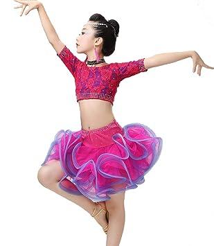 SMACO Traje De Baile Latino para Niñas, Concurso De ...